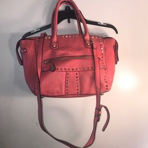 Coral Studded Tote